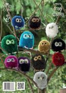 Owl Family Knitting Pattern