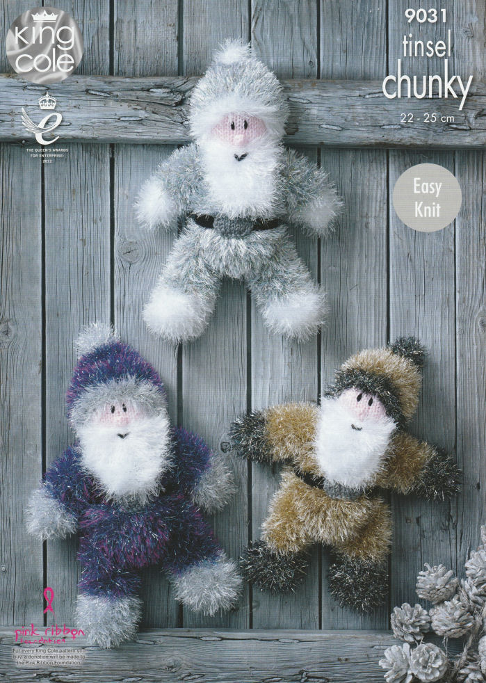 Santas Knitting Pattern