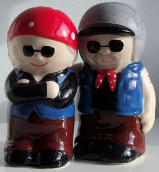Fogies Salt & Pepper Set