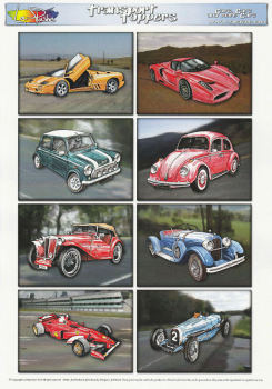 Cars, Cars & More Cars Topper Sheet