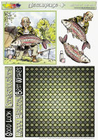 Catch of the Day Decoupage Plus Sheet