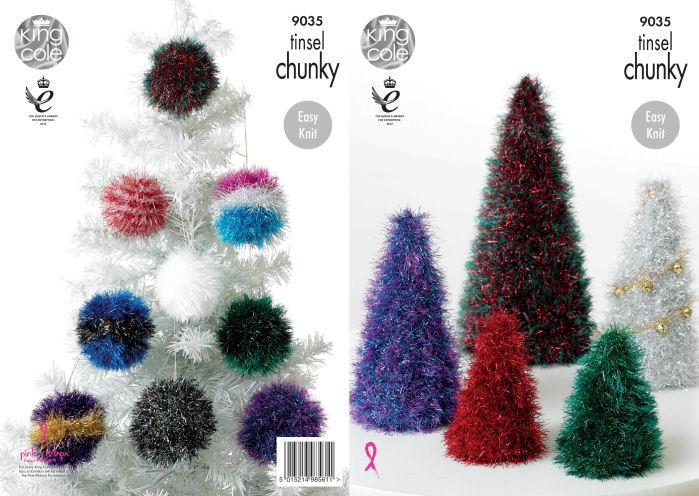 Christmas Tree Knitting Pattern