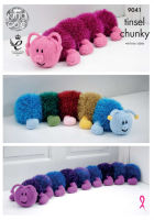 Tinsel Centipede Knitting Pattern