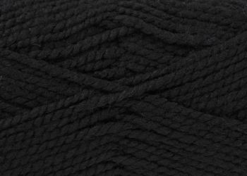 Black (554) Big Value Chunky Wool