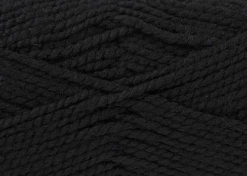 Black Big Value Chunky Wool