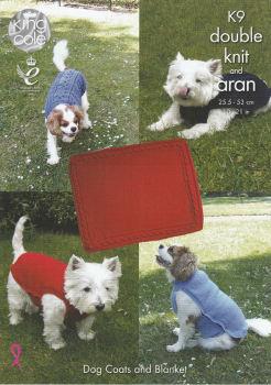 Dog Coats & Blanket Knitting Pattern