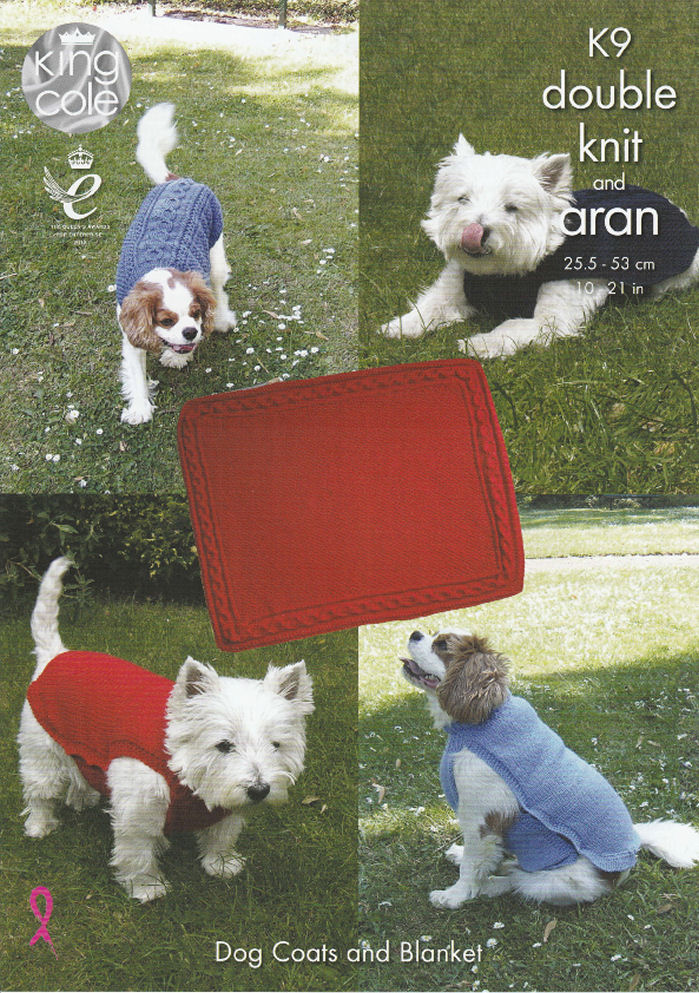 Dog Coats & Blanket Knitting Pattern