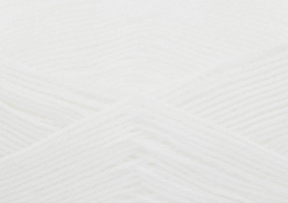 White Comfort 4ply Wool