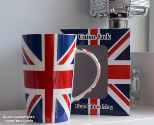 Union Jack Latté Mug
