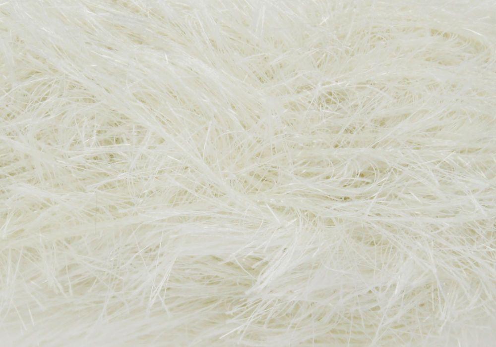 Cream Tinsel Chunky Wool