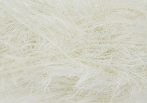 Cream Tinsel Chunky Wool