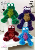 Frogs Knitting Pattern
