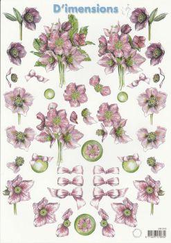 Assorted Flowers 2 Decoupage Sheet
