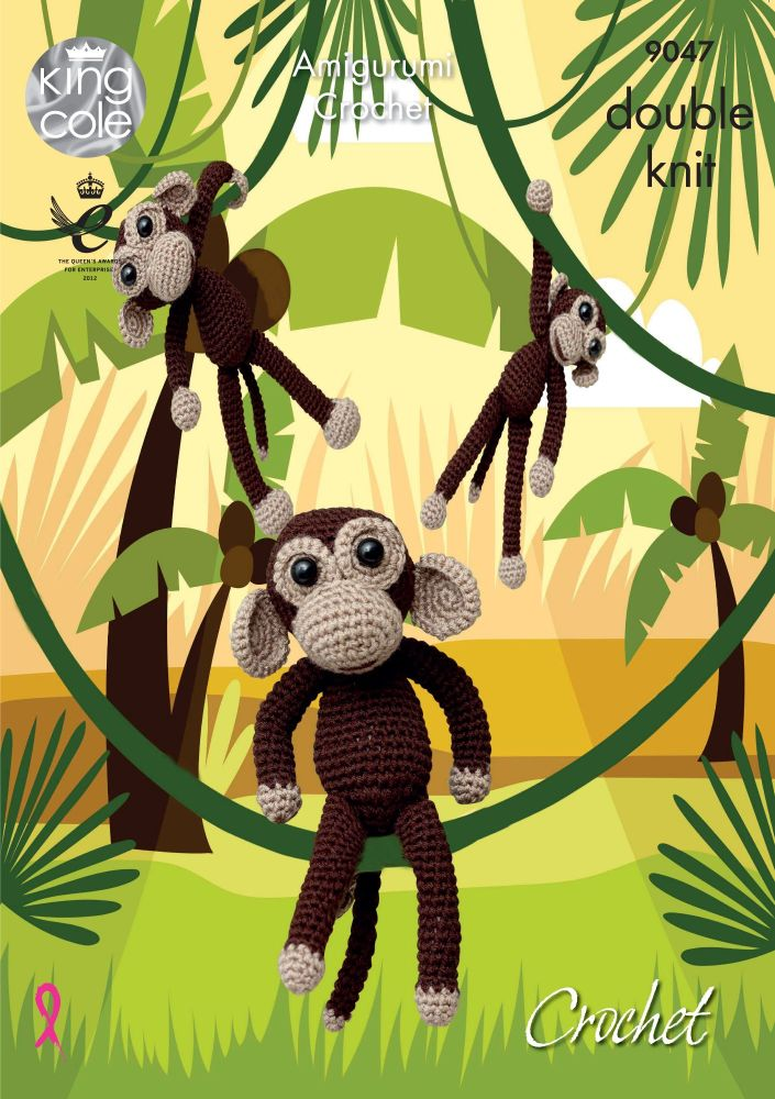 Amigurumi Crocheted Monkeys