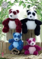 Pandas Knitting Pattern