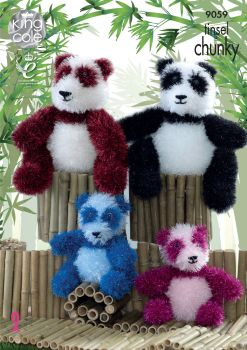 Pandas Knitting Pattern