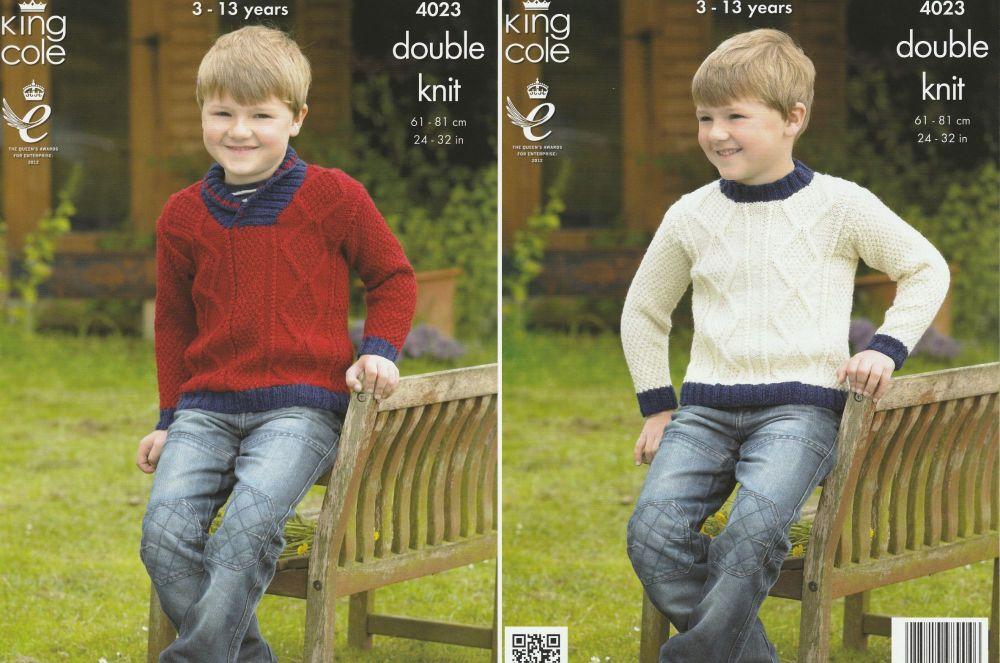 Sweaters Knitting Pattern