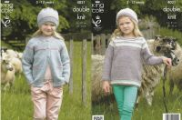 Jacket, Top & Hats Knitting Pattern