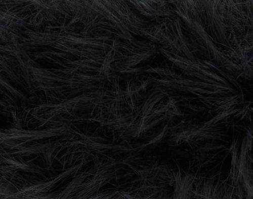 Brand New! Black (1050) Luxe Fur