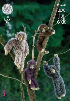 Chimpanzees Knitting Pattern