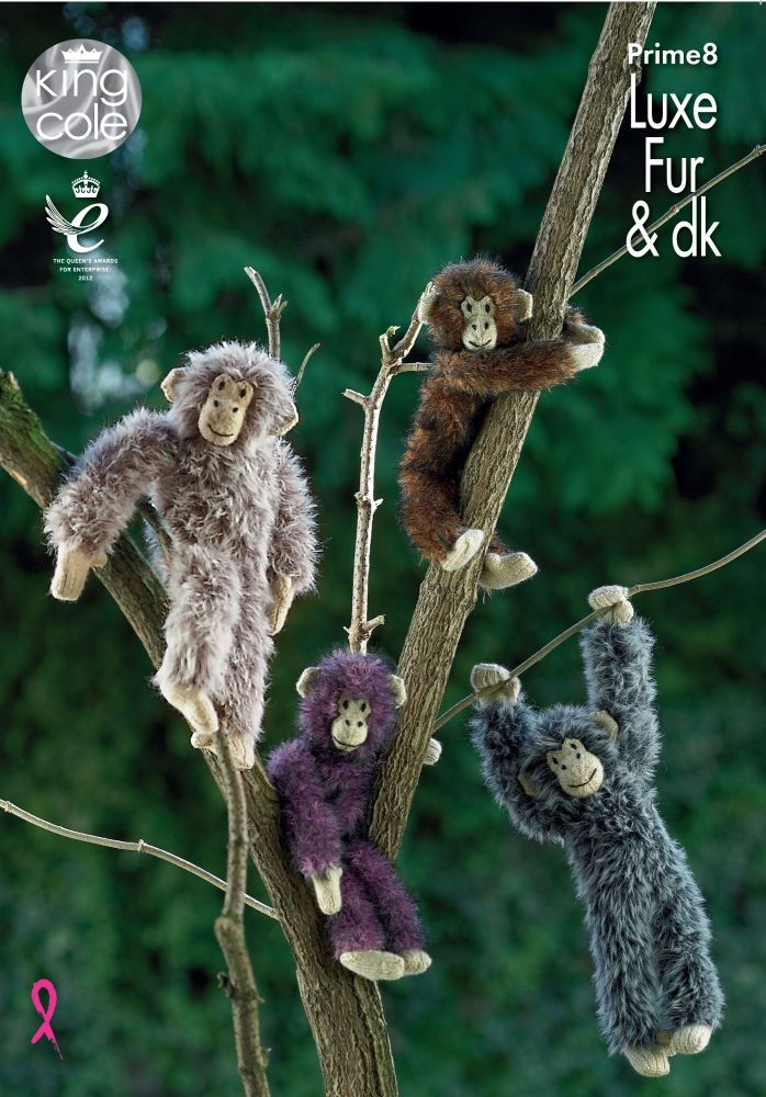 Brand New! Chimpanzees Knitting Pattern