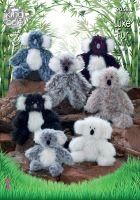 Luxe Fur Koala Knitting Pattern