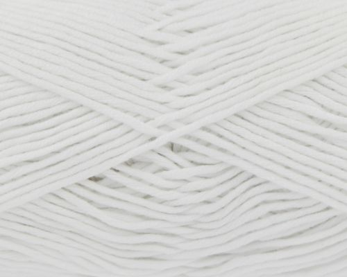 White Bamboo Cotton Double Knitting