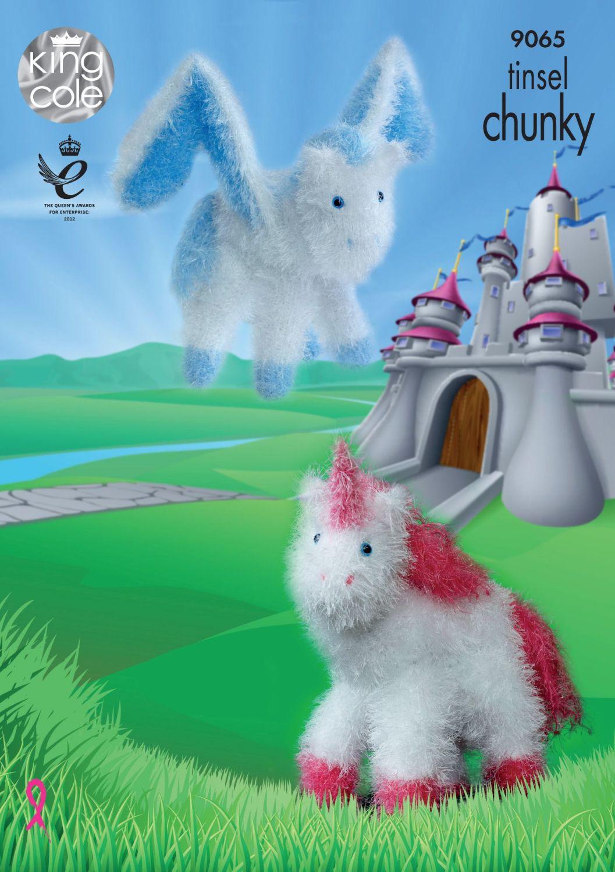 Brand New! Unicorn & Pegasus Knitting Pattern