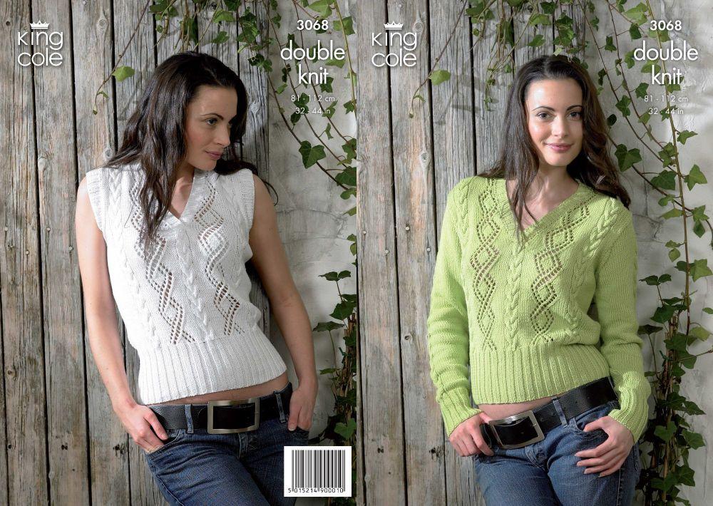 Sweater & Slipover Knitting Pattern