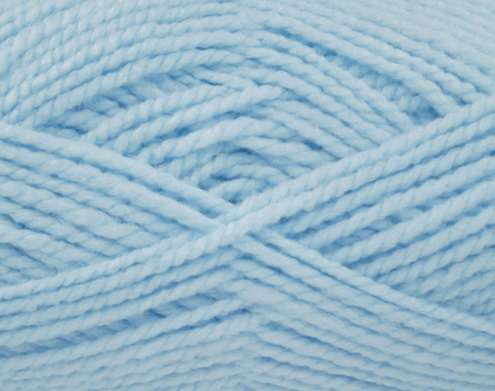 Brand New! Soft Blue (2515) Big Value Baby Chunky