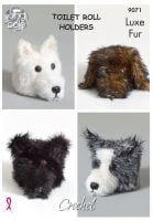 Dog Toilet Roll Holders Crochet Pattern