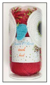 Owl Hat Crochet Kit