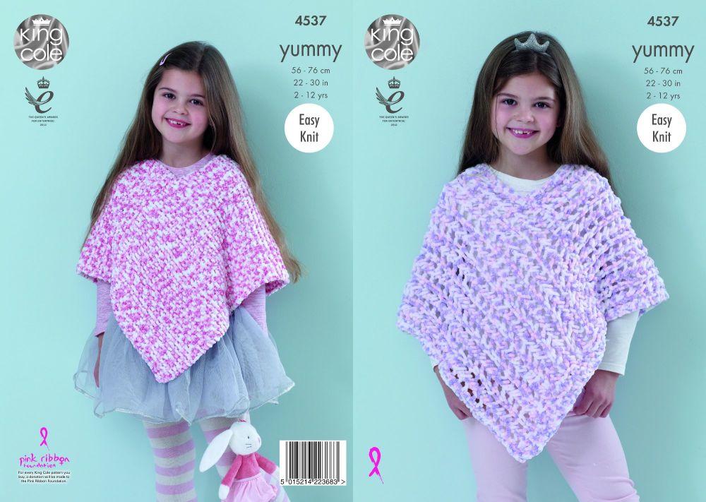 Ponchos Knitting Pattern