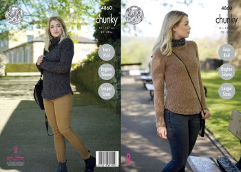 Ladies' Sweaters Knitting Pattern (2)