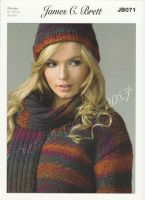 Hat, Sweater & Scarf Knitting Pattern