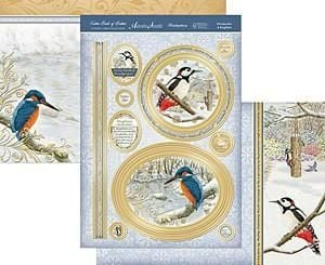 Woodpecker & Kingfisher Luxury Topper Set