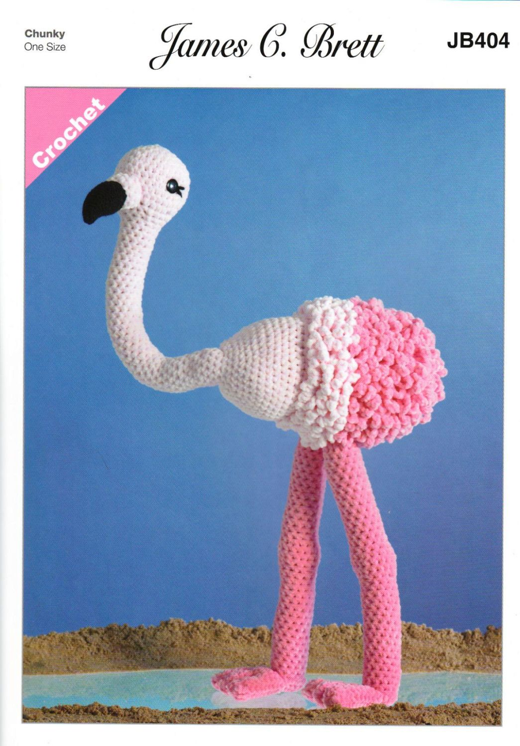 Flo Flamingo Crochet Pattern