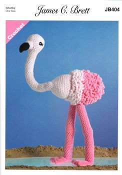 Flo the Flamingo Crochet Pattern