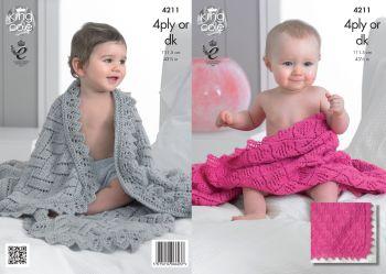 Baby Shawls Knitting Pattern