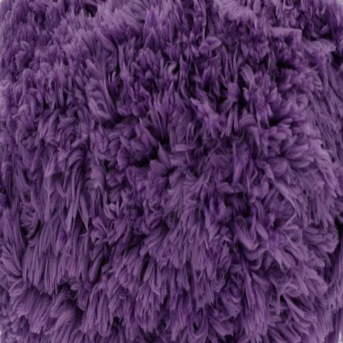 Aubergine Tufty Wool