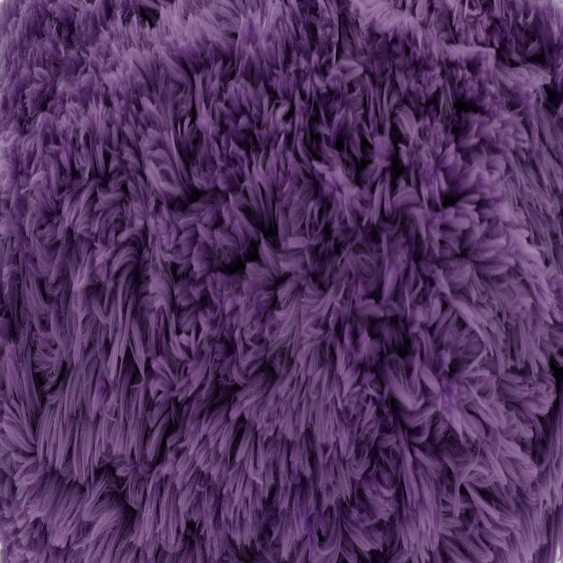 Aubergine Tufty Wool