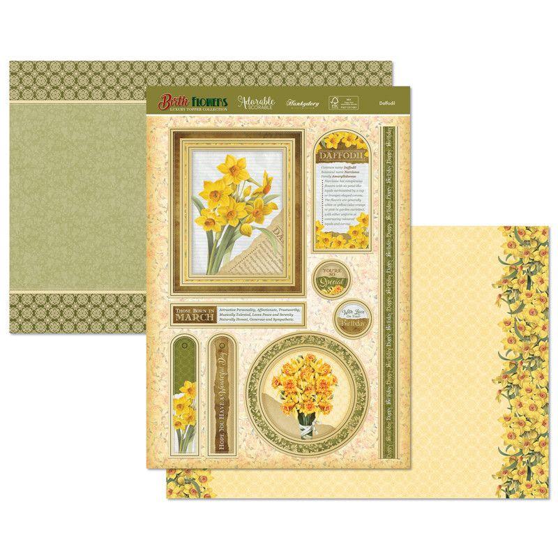 Daffodil Topper Set