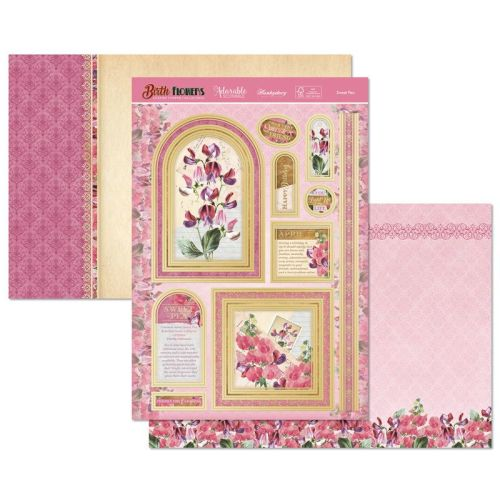 Sweet Pea Topper Set