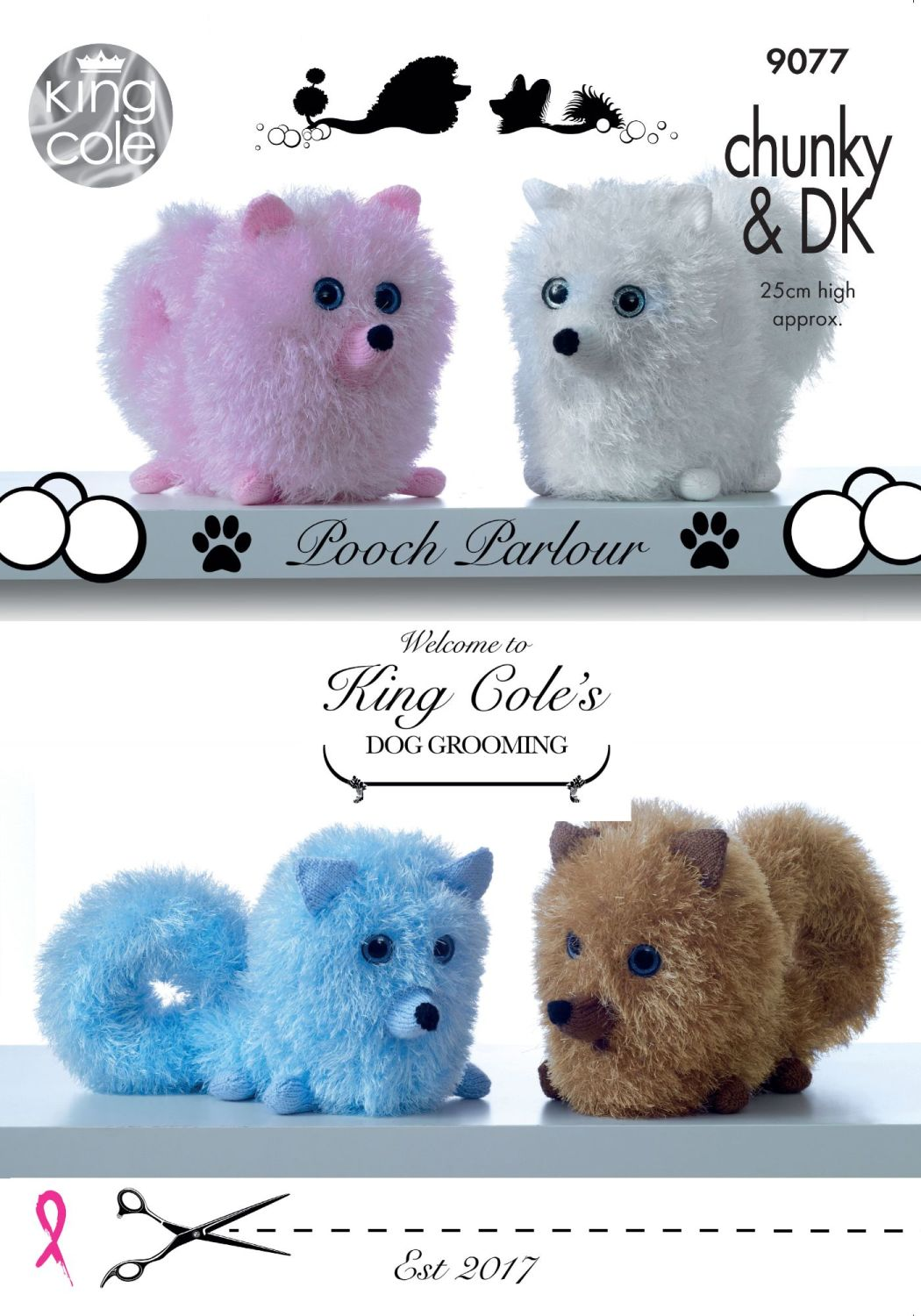 Pomeranian Dogs Knitting Pattern