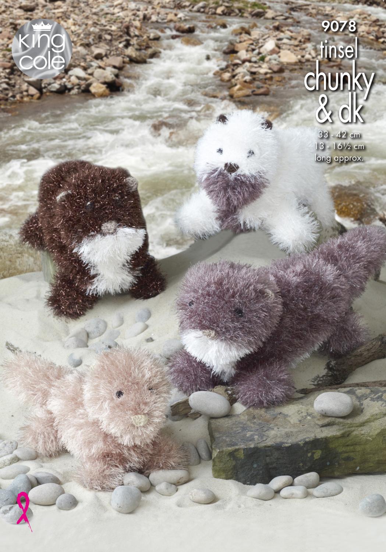 Otters Knitting Pattern