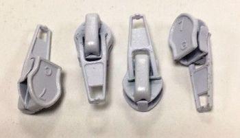 No.5/6mm White Zip Sliders