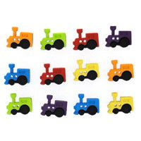 Sew Cute Train Novelty Buttons