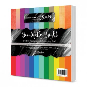 Beautifully Bright Perfect Backgrounds Stamping Pad