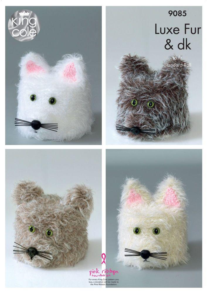 Cat Toilet Roll Holders Knitting Pattern