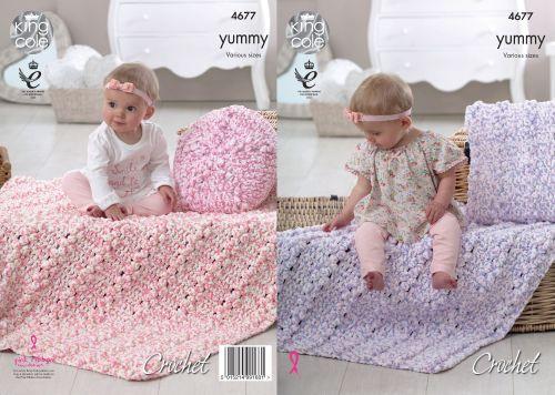 Cushions & Blankets Crochet Pattern
